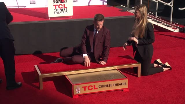 Ethan Hawke at the TCL Chinese Theater Handprint And Footprint Ceremony Honoring Ethan Hawke at TCL Chinese Theatre on January 08 2015 in Hollywood...