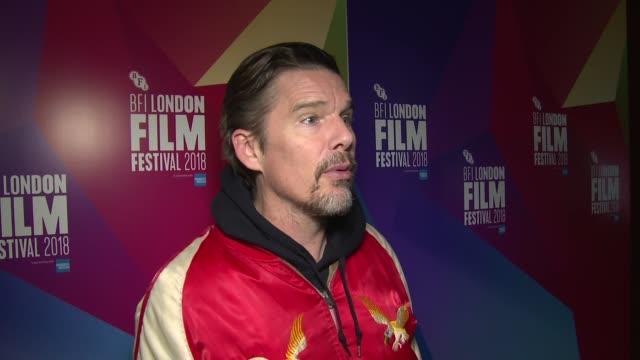 GBR: 'Blaze' UK Premiere - 62nd BFI London Film Festival