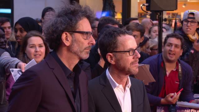 GBR: 'The Ballard of Buster Scruggs' UK Premiere - 62nd BFI London Film Festival