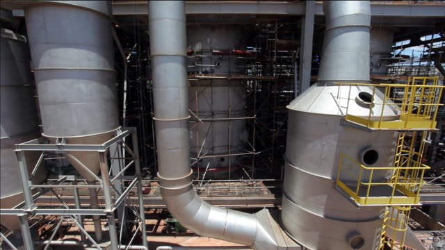 ethanol plant, biofuel facilities, sao paulo, brazil - sugar cane stock videos and b-roll footage