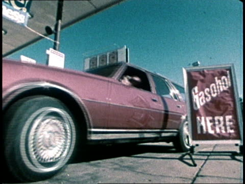 1980 montage ethanol  - fuel pump stock videos and b-roll footage