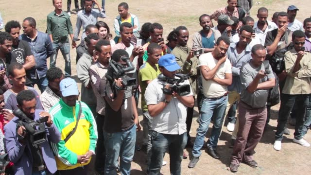 ethiopia africas second most populous county holds general elections sunday the first since the death of long time strongman meles zenawi and with... - etiopia video stock e b–roll