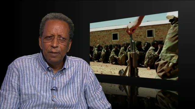 ethiopia and eritrea officially end 'state of war'; england: london: int professor gaim kibreab interview sot - エチオピア点の映像素材/bロール