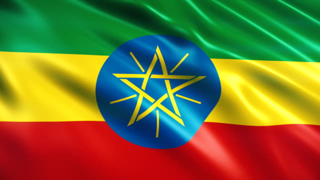 ethiopia flag - flag stock videos & royalty-free footage
