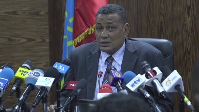 ethiopian police says the head of a controversial scheme to dam the waters of the blue nile has been shot in the head in a daylight killing in addis... - äthiopien stock-videos und b-roll-filmmaterial