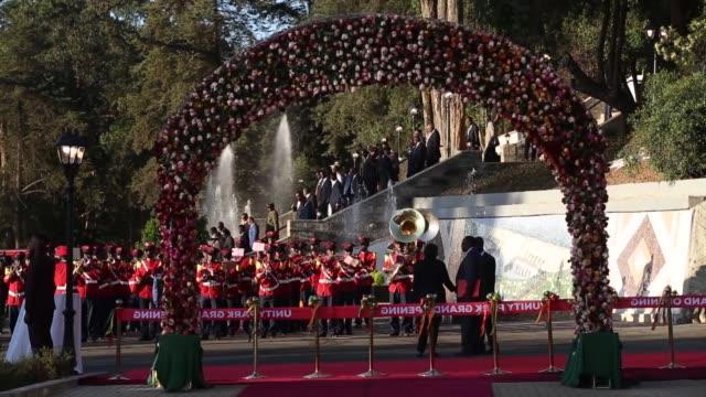 ethiopian prime minister abiy ahmed kenyan president uhuru kenyatta ugandan president yoweri kaguta museveni president of south sudan silva kiir... - central park zoo stock videos & royalty-free footage
