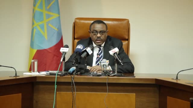 ethiopian prime minister hailemariam dessalegn says that the number of detainees arrested since ethiopia declared a state of emergency in early... - ethiopia stock videos & royalty-free footage