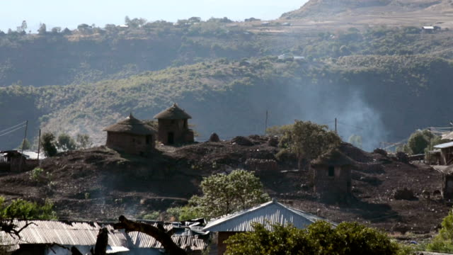 ethiopian village - ethiopia stock videos and b-roll footage