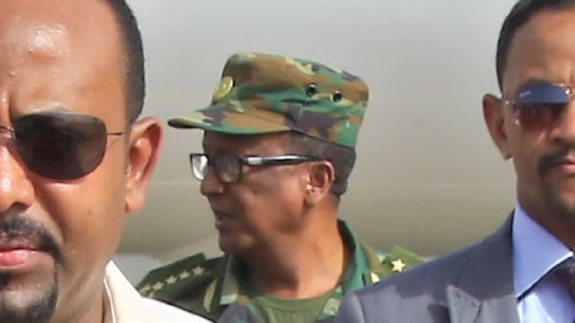 stockvideo's en b-roll-footage met ethiopia's army chief and a top local leader have been shot dead during an attempt to overthrow a regional government in northern ethiopia... - staatsgreep