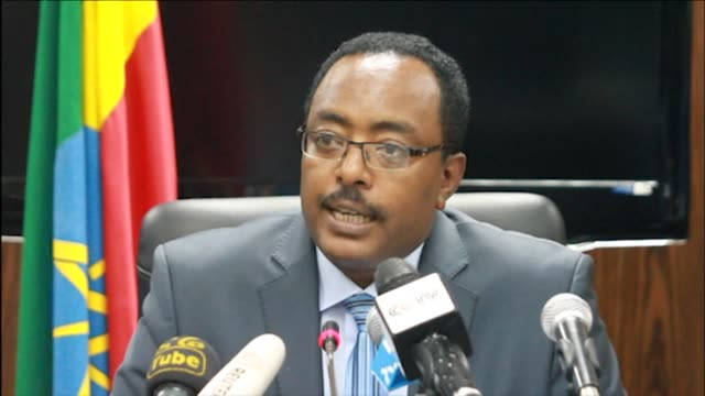 ethiopia's government on monday named the copilot of an ethiopian airlines flight who hijacked his aircraft describing him as medically sane and... - corno d'africa video stock e b–roll