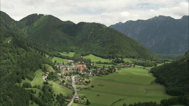 ettal abbey - garmisch partenkirchen stock videos & royalty-free footage