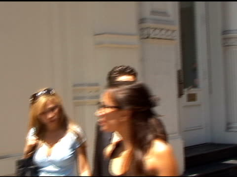 etty lau and perry farrell take a walk in soho in new york 07/26/11 - perry farrell stock videos & royalty-free footage