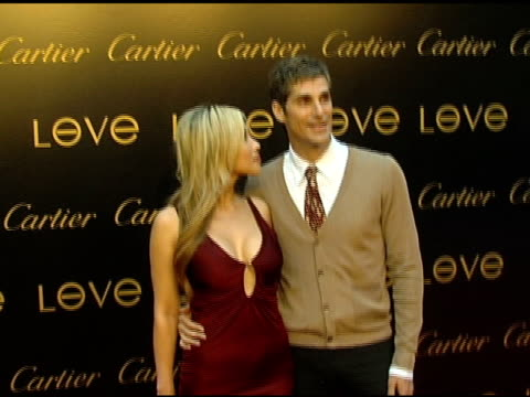 etty lau farrell and perry ferrell at the cartier hosts the third annual loveday celebration at los angeles california. - perry farrell stock videos & royalty-free footage