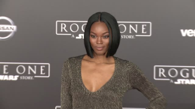 Eugena Washington at Rogue One A Star Wars Story World Premiere at the Pantages Theatre on December 10 2016 in Hollywood California