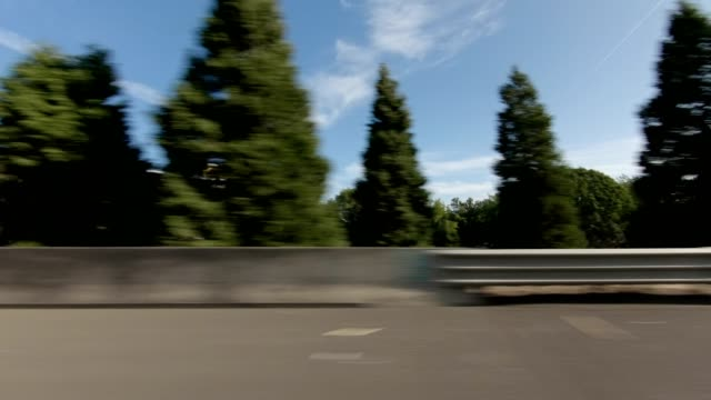 eugene highway xxviii synced series right view driving process plate - oregon us state stock videos & royalty-free footage