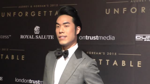 Eugene Lee Yang at the Audrey and KoreAm 2015 Unforgettable Gala at The Beverly Hilton Hotel in Beverly Hills at Celebrity Sightings in Los Angeles...
