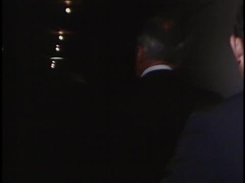 vidéos et rushes de eugene mccarthy leaves the 1968 democratic national convention. - eugene j. mccarthy