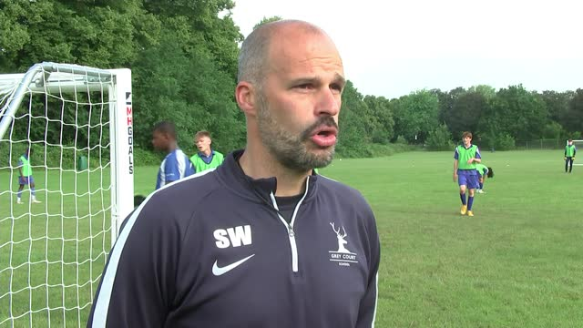 declan rice's pe teacher on the footballer's resilience and determination; england: london: richmond: grey court school: ext steve willmore interview... - resilience stock videos & royalty-free footage