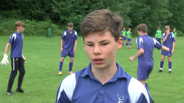 declan rice's pe teacher on the footballer's resilience and determination; england: london: richmond: grey court school: ext grey court school... - resilience stock videos & royalty-free footage