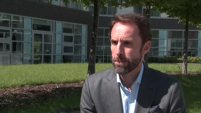 england manager gareth southgate interview; england: staffordshire: st george's park: ext gareth southgate interview sot. q - frustrating to delay... - frustration stock videos & royalty-free footage