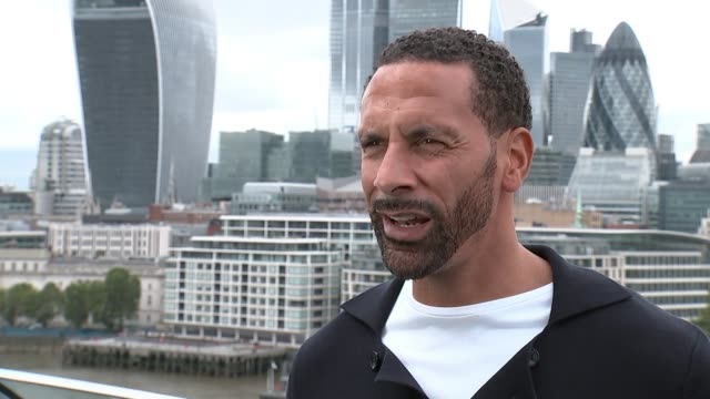 Euro 2020 preview with Rio Ferdinand ENGLAND London EXT Rio Ferdinand interview SOT