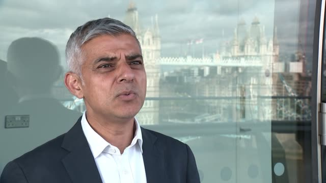 Euro 2020 preview with Rio Ferdinand ENGLAND London EXT Sadiq Khan MP interview SOT We're going to work closely with the police service / we're going...