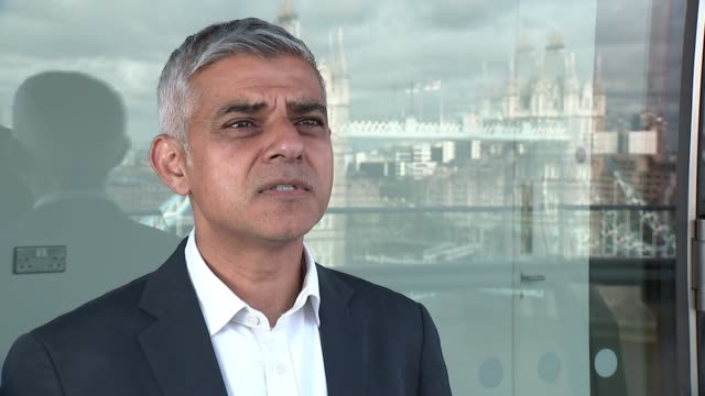 Euro 2020 preview with Rio Ferdinand ENGLAND London EXT Sadiq Khan MP interview SOT Well it's going to be a carnival like atmosphere there's going to...
