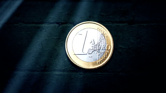 euro coin - papiergeld stock videos & royalty-free footage
