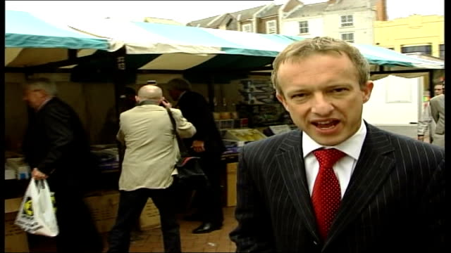 postal ballots arrive itn england northampton robert kilroysilk hugging black man and posing for pix as silk tells the man he wants his vote sot side... - autographing stock videos and b-roll footage