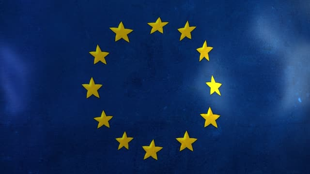 euro flag - european union stock videos & royalty-free footage