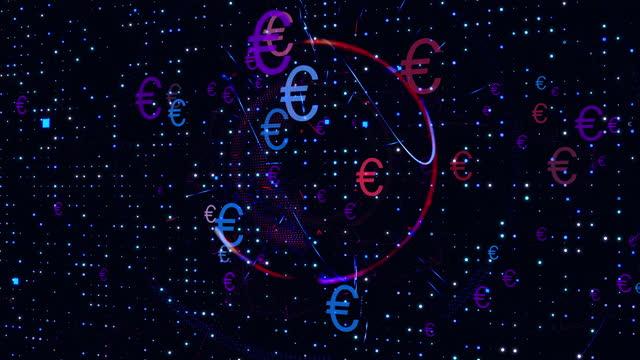 euro symbol - symbol bildbanksvideor och videomaterial från bakom kulisserna