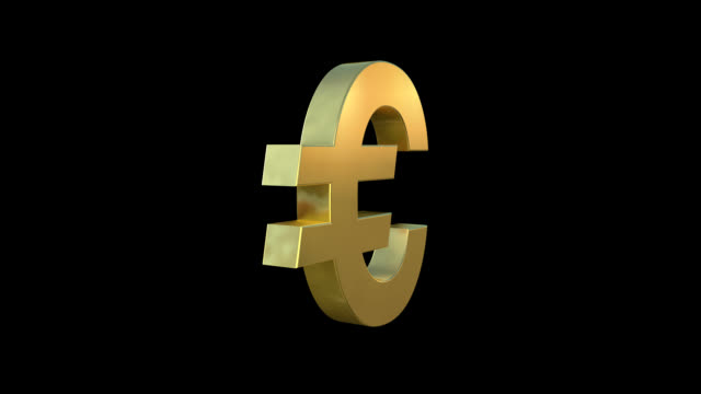 euro symbol - euro symbol stock videos and b-roll footage