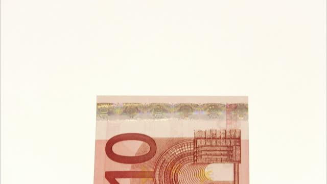 stockvideo's en b-roll-footage met euro. - tien euro
