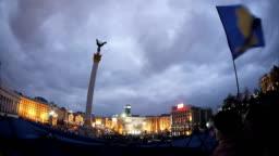 Euromaidan - the beginning. December 2013