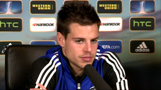 vídeos y material grabado en eventos de stock de chelsea press conference more azpilicueta press conference sot - unión europea de las asociaciones nacionales