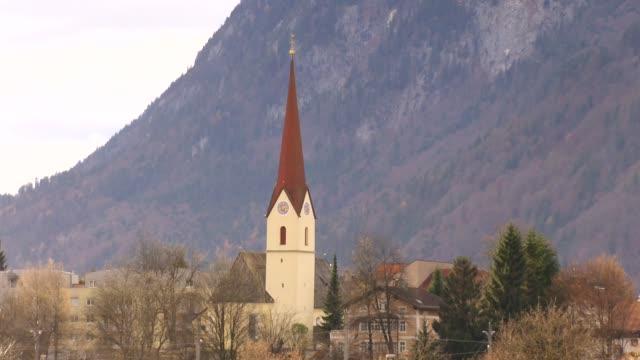 Europe, Austria, Tyrol, Kufstein, View Of Church Spire