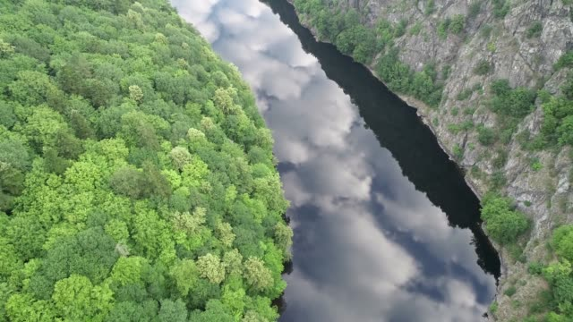 Europe, Czech Republic, Bohemia Vltava River