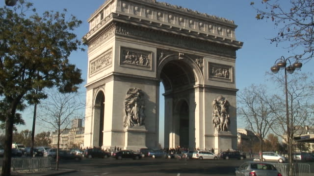HD: Europe, France, Paris, Arc de Triomphe
