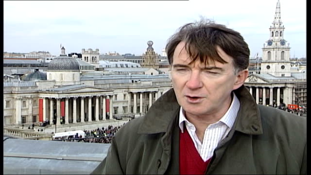 Free trade Mandelson interview Peter Mandelson interview SOT no place for that in world not if we want to maintain our living standards not if we...