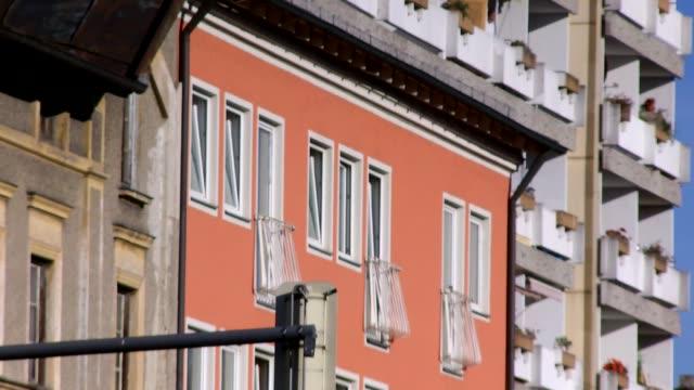 Europe, Germany, Bavaria, Rosenheim, View Of Apartment Building