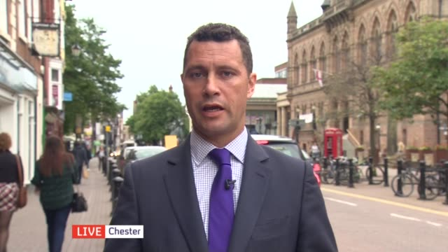 emergency meeting of european leaders to be held england london gir int rajesh agrawal in studio and steven woolfe mep in chester interviews sot - chester inghilterra video stock e b–roll