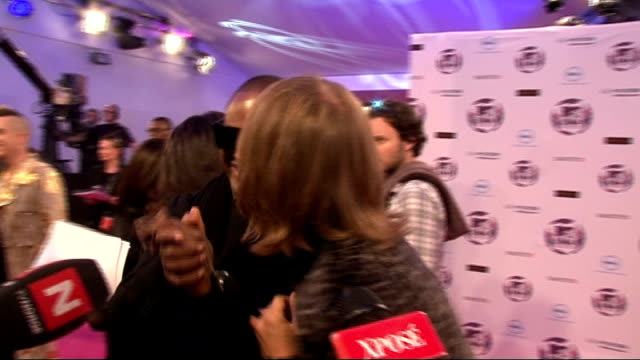 europe music awards 2011: celebrity interviews; taio cruz along red carpet taio cruz and david guetta interview sot - on being at the mtv emas / why... - mtv europe music awards stock videos & royalty-free footage