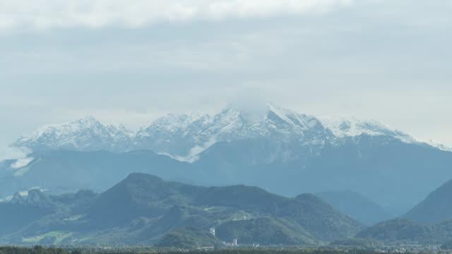 tl:オーストリア、ザルツブルクのヨーロッパアルプス - オーストリア文化点の映像素材/bロール