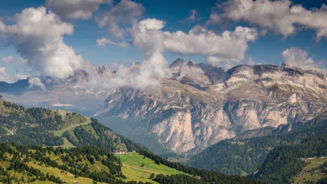 stockvideo's en b-roll-footage met europese alpen bergketen, time lapse, zwitserland - zwitserland