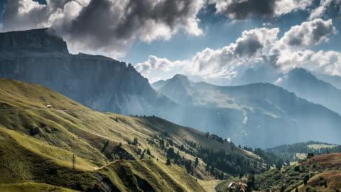 europäische alpengebirge , time lapse , schweiz - zeitraffer stock-videos und b-roll-filmmaterial