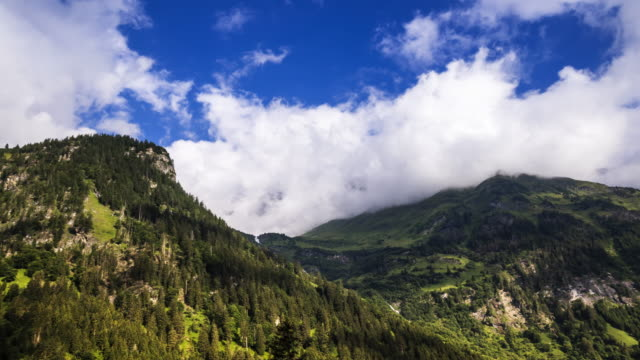 european alps with clouds in motion - carinthia stock videos & royalty-free footage