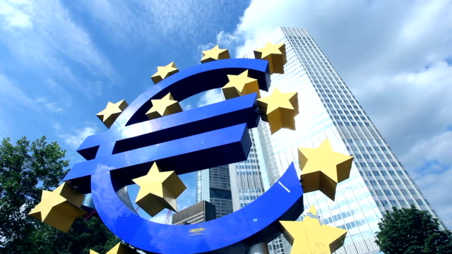 european central bank, frankfurt - hesse germany stock videos and b-roll footage