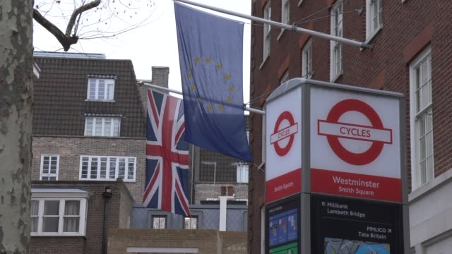 european commission on january 10 2019 in london england - currency symbol stock videos & royalty-free footage