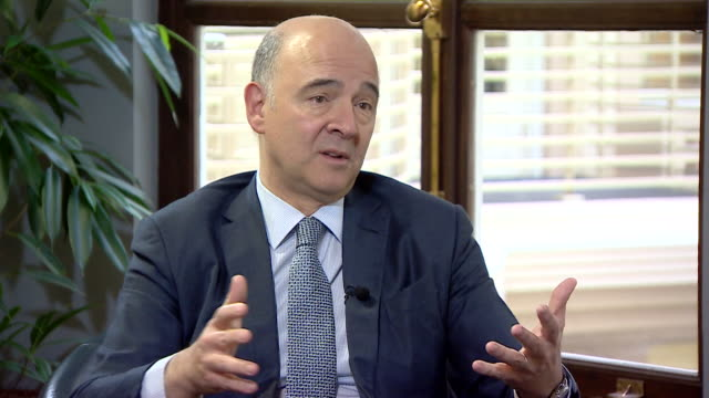 European Commissioner for Economic and Financial Affairs Pierre Moscovici saying the UK will have to choose its 'model' postBrexit