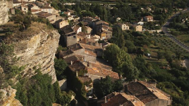 european countryside - saignon stock videos & royalty-free footage